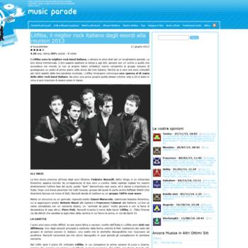 Musicparade.it thumbnail