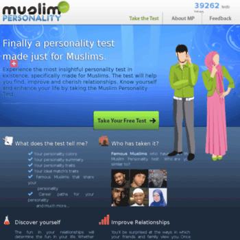 Muslim personality test