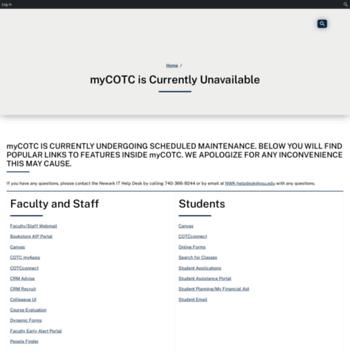 My.cotc.edu thumbnail