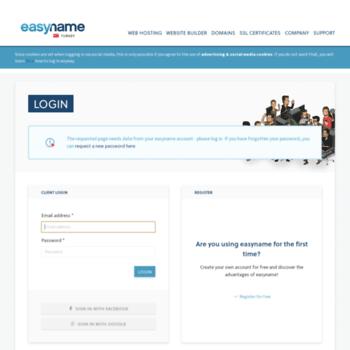 My.easyname.web.tr thumbnail