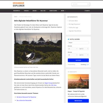 Myanmarexplorer.de thumbnail