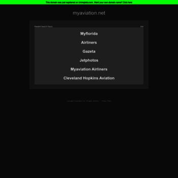 Myaviation.net thumbnail