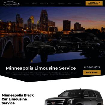 Myblackcarride Com At Wi Minneapolis Limousine Service My Black