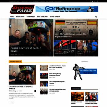 Myboxingfans.com thumbnail