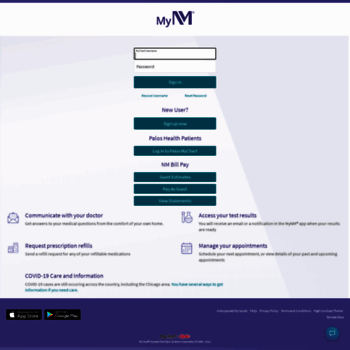 Mycnmorg At Wi Nm Mychart Login Page