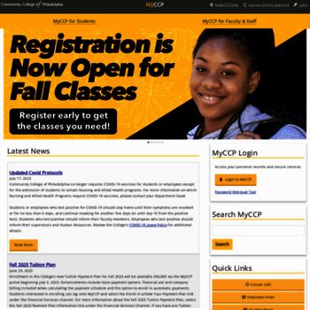 Myccponline At Wi Community College Of Philadelphia