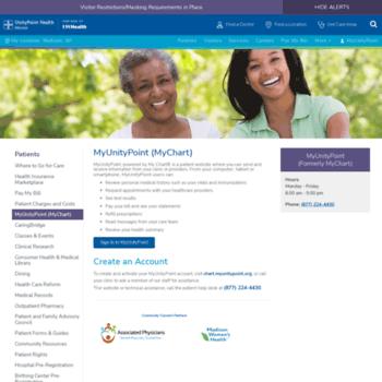 Mychart meriter com at wi myunitypoint at unitypoint health meriter