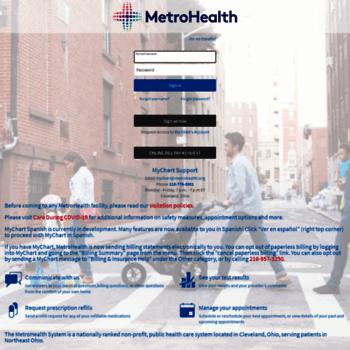 Mychart Metrohealth Org Thumbnail