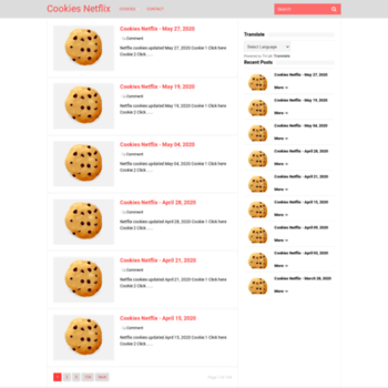 mycookiesfree com at WI  Cookies Netflix