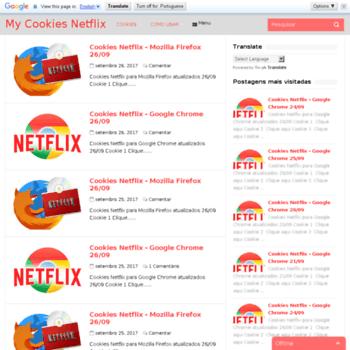 mycookiesnetflix net at WI  My Cookies Netflix