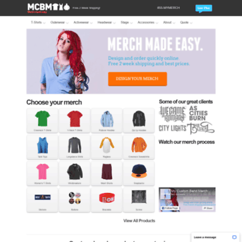 mycustombandmerch com at WI  Custom Band Merch   Custom Band Shirts