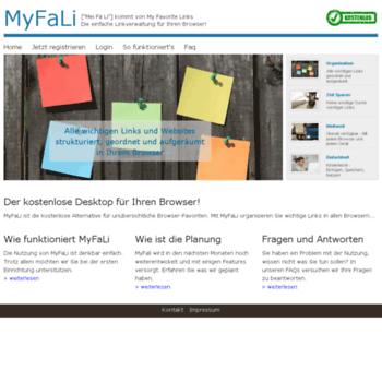 Myfali.net thumbnail