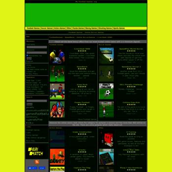 Myfootballgames.org thumbnail