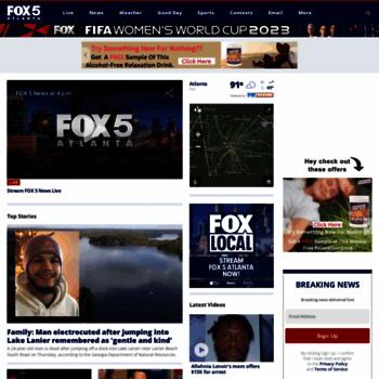 myfoxatlanta com at WI  FOX 5 Atlanta - Breaking Atlanta