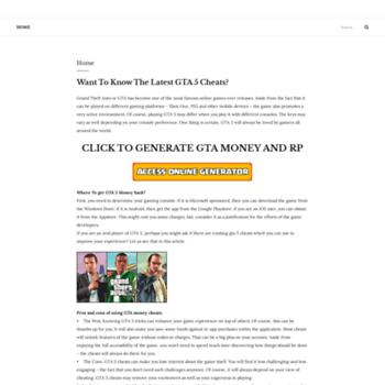 gta cash and rp generator