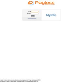 Myinfopaylesscom At Website Informer Visit Myinfo Payless
