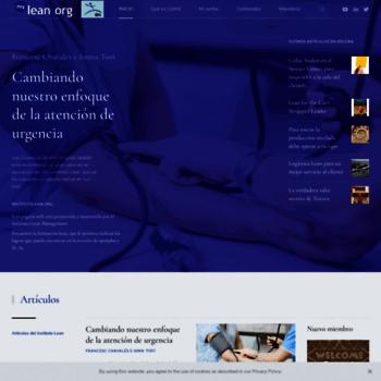 Mylean.org thumbnail