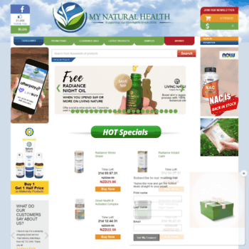 mynaturalhealth co nz at WI  Buy Supplements Online