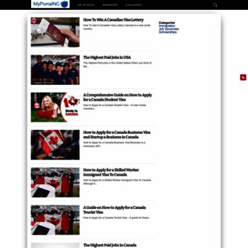 Myportalng.net thumbnail