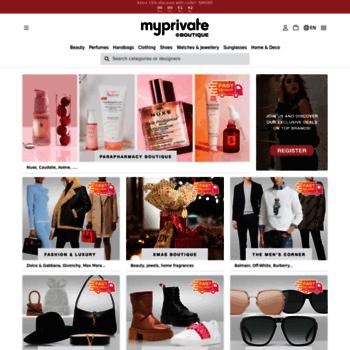 Myprivateboutique.ch thumbnail