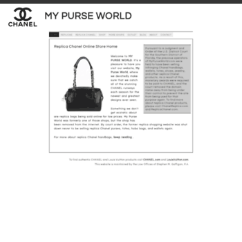 Mypurseworld.com thumbnail