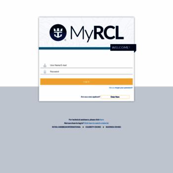 myrclhome com at WI  MyRCL Home Portal   Authentication