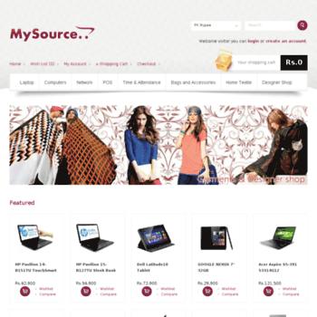 Mysource.com.pk thumbnail