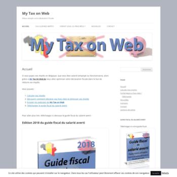 Mytaxonweb.be thumbnail
