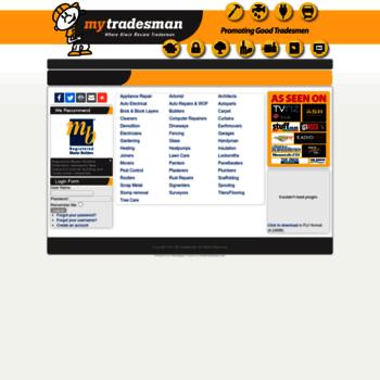 Mytradesman.co.nz thumbnail
