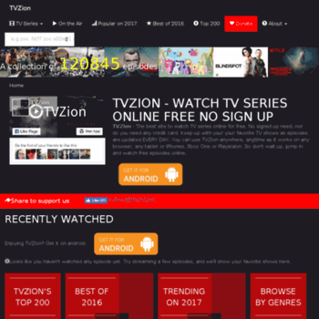 new tvzion pro