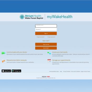 www.mywakehealth.com