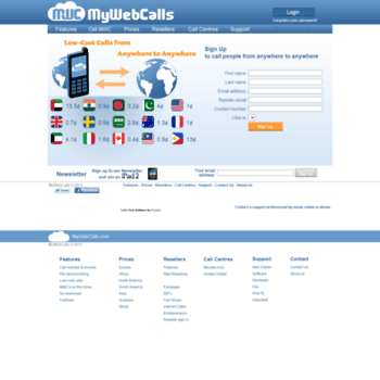mywebcalls com at WI  Free or Cheap Internet Calls | PC to Phone