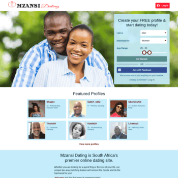 mzansi internet dating