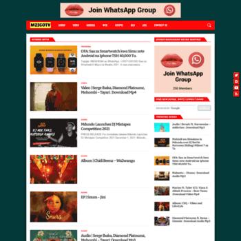 mzigotv com at WI  Nyimbo Mpya - Download Audio na Video