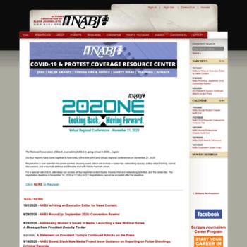Nabj.org thumbnail