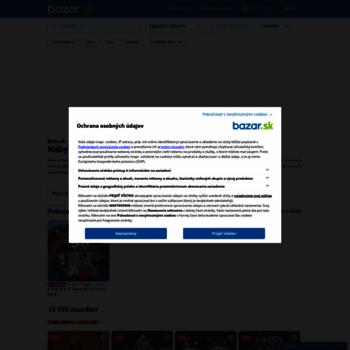 42e7ad7e5 nabytok.bazar.sk at WI. Nábytok do vašej domácnosti, interiéru aj ...