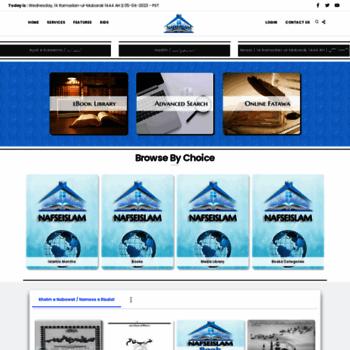 Nafseislam.org thumbnail