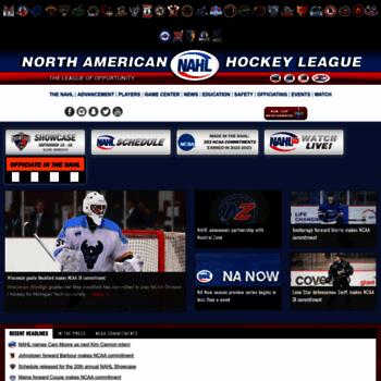 Nahl Com At Wi Nahl Com North American Hockey League Nahl