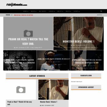 naijabeats com at WI  Welcome to naijabeats Download and Stream New