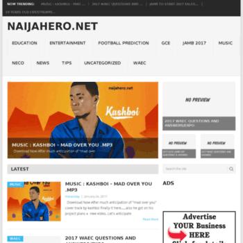 Naijahero.com.ng thumbnail