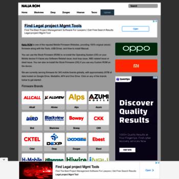 naijarom com at WI  Naija ROM - Database of Mobile Firmware
