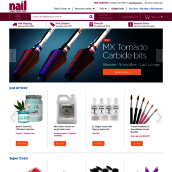 nailsuperstore com at WI  Wholesale Nail Supplies: Acrylic, Gel