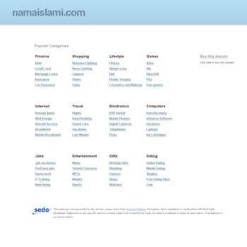 Namaislami.com thumbnail