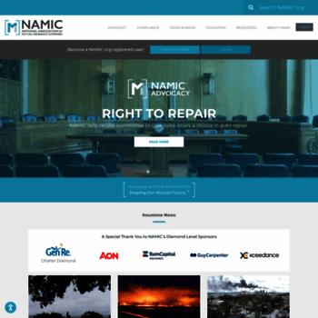 Namic.org thumbnail