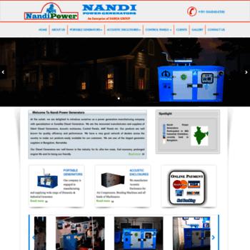 Nandipower.net thumbnail