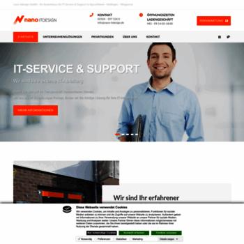 Nano-itdesign.de thumbnail