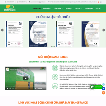 Nanofrance.com.vn thumbnail