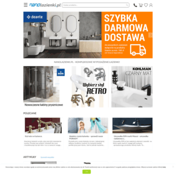 Nanolazienki.pl thumbnail