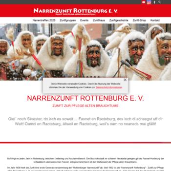 Narrenzunft-rottenburg.de thumbnail