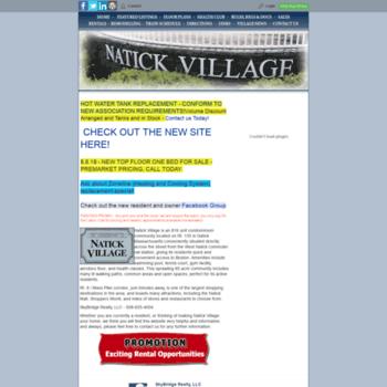Natickvillage.net thumbnail
